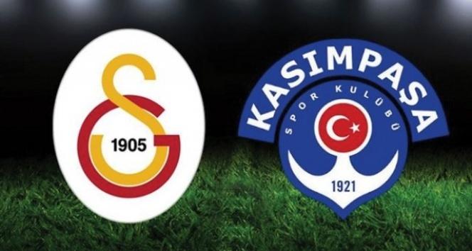 Galatasaray - Kasımpaşa hazırlık maçı iptal oldu
