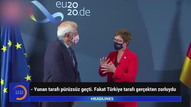 Mikrofon açık kalınca Alman bakanın Türkiye sözleri ifşa oldu