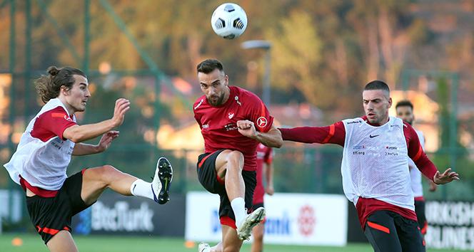 A Milli Takım, Macaristan maçı hazırlıklarını devam ettirdi