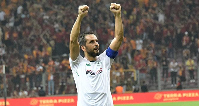 Ali Turan Konyaspor'a veda etti