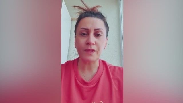 Azerin gözyaşları içinde paylaştı: Zafer bizimdir