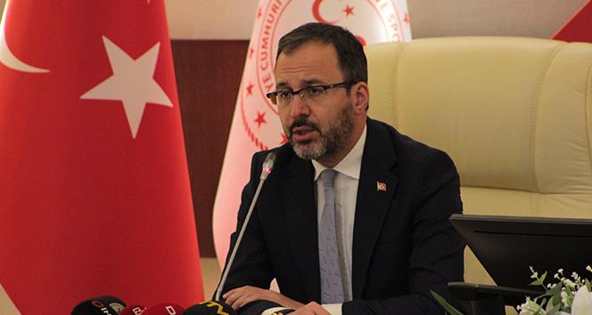 Bakan Kasapoğlu: 'Gençlere önem veriyoruz'