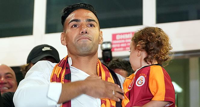 Galatasaray'da Falcao'nun mutlu günü