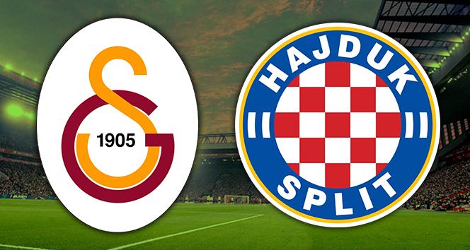 Galatasaray Hajduk Split Canlı İzle | GS Hajduk Split ilk 11'ler | GS Hajduk Split saat kaçta hangi kanalda