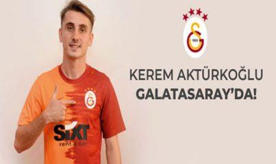Galatasaray, Muhammed Kerem Aktürkoğlu ile 4 yıllık sözleşme imzaladı