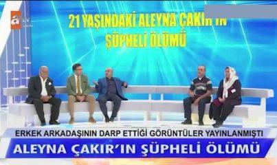 Müge Anlı canlı yayında açıkladı: Aleyna Çakır'ın tırnak içlerinde erkek DNA'sı bulundu