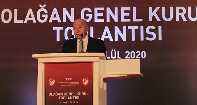 Nihat Özdemir: 'TFF 2. Lig ve TFF 3. Lig isim ve yayın hakkı sponsorluğu için anlaşma sağladık'
