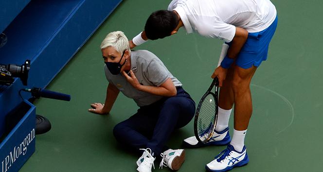 Novak Djokovic, Amerika Açık'tan diskalifiye edildi