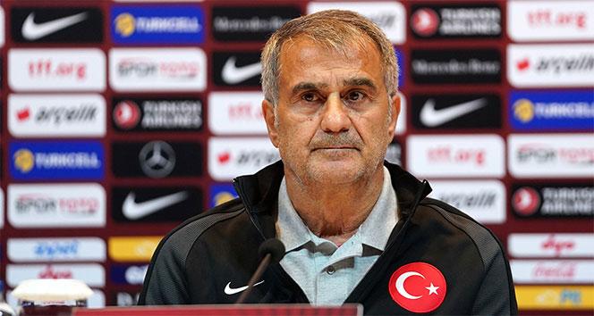 Şenol Güneş: 'Macaristan maçına göre kadroda çok değişiklik yapacağız'