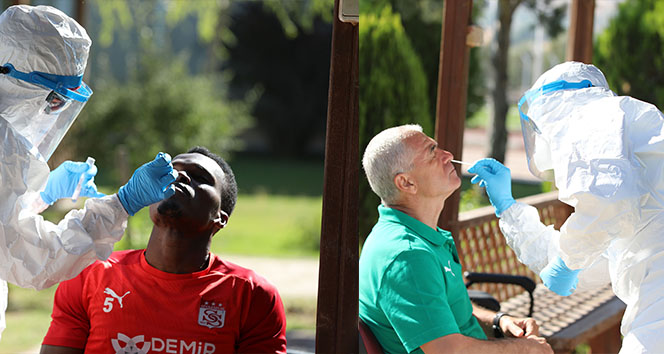 Sivasspor 18. kez korona testinden geçti