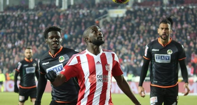 Sivasspor ile Alanyaspor 7. randevuda