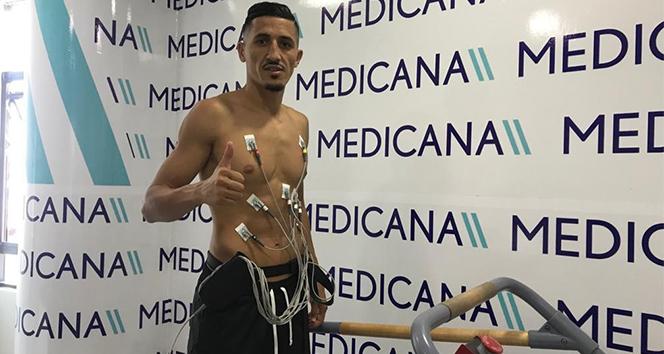Sivasspor'un yeni transferi Fayçal sağlık kontrolünden geçti