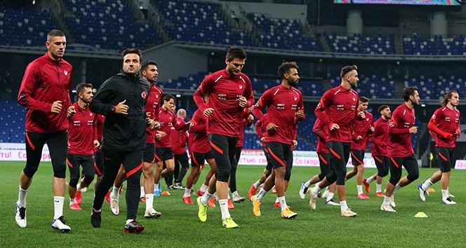 A Milli Takım, Rusya maçına hazır