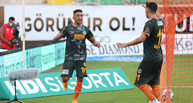 Alanyaspor, Hatayspor'u farklı mağlup etti