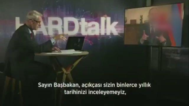 BBC sunucusu, Ermenistan Başbakanı'nı canlı yayında rezil etti