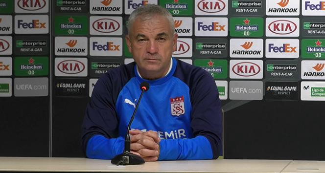 Çalımbay: 'Amacımız Villarreal maçından puan ya da puanlar almak'