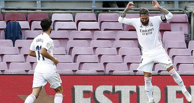 El Clasico'da zafer Real Madrid'in