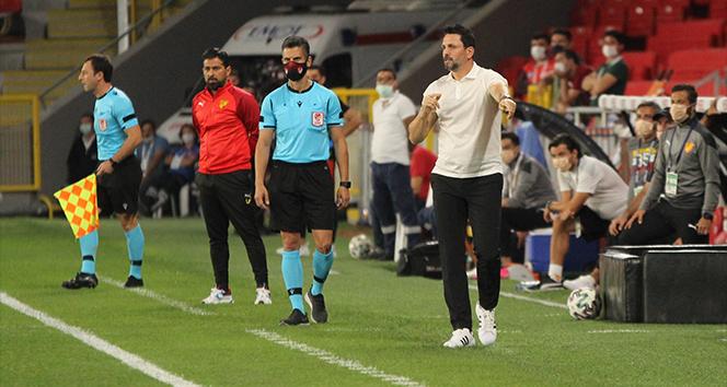 Erol Bulut: 'Oynanan futboldan memnunum'