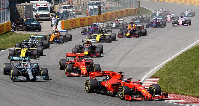 Formula 1'de heyecan Almanya'da