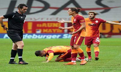Galatasaray ligde 3 maçtır kazanamıyor