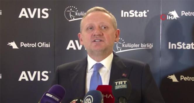 Göksel Gümüşdağ: 'Şampiyonlar Ligi ve Avrupa Ligi'nde yüzde 30 seyirci alınabilir'