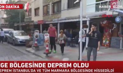 İzmir'de şiddetli deprem: Birçok ilde hissedildi