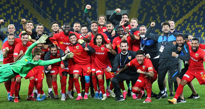 Kayserispor ilk deplasman galibiyetini aldı