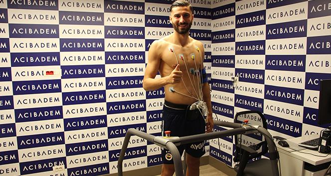 Kemal Ademi, sağlık kontrolünden geçti