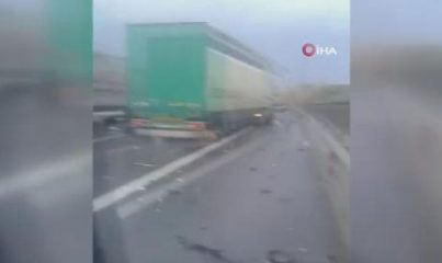 Kuzey Marmara Otoyolu'nda feci kaza: 2 ölü, 3 yaralı
