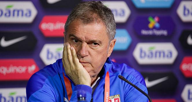Ljubisa Tumbakovic: 'Kazanmak için sahada olacağız'
