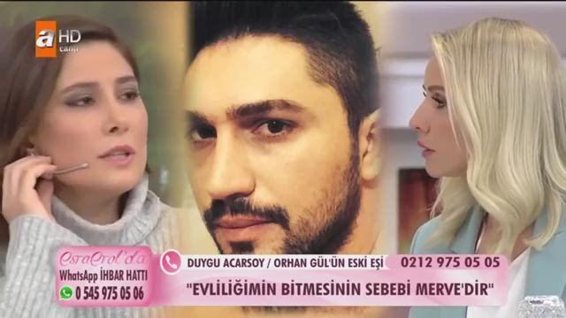 Masterchef Duygu Acarsoy Esra Erol'a çıkmış! İlk eşi Orhan Gül ve Merve Gül ifşası
