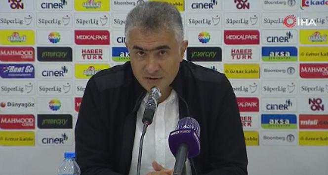 Mehmet Altıparmak: 'Son toplarda iyi olsaydık farklı kazanırdık'