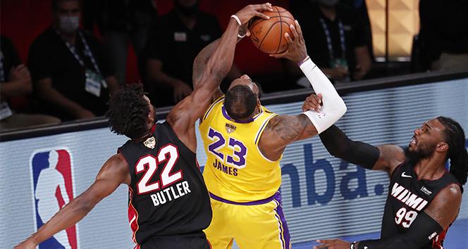 NBA'de Lakers adım adım şampiyonluğa