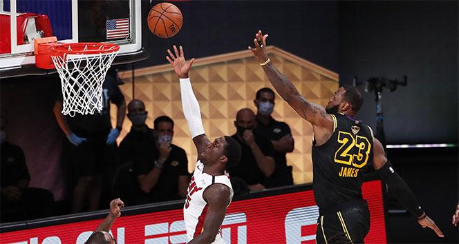 NBA finalinde Lakers seriyi 2-0 yaptı