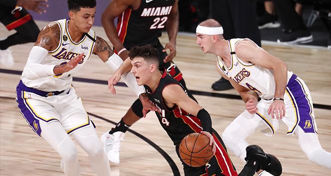 NBA finalinde Miami seriyi 2-1'e getirdi