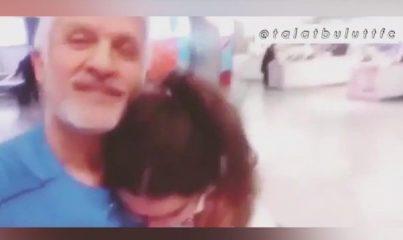 Talat Bulut, kızı ile videosunu Instagram hesabından paylaştı