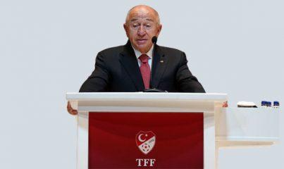 TFF Başkanı Nihat Özdemir: 'Maçları yüzde 30 oranında seyircili oynamayı talep etmekteyiz'