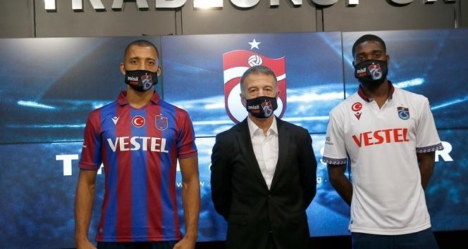 Trabzonspor, Vitor Hugo ve Djaniny Semedo için imza töreni düzenlendi