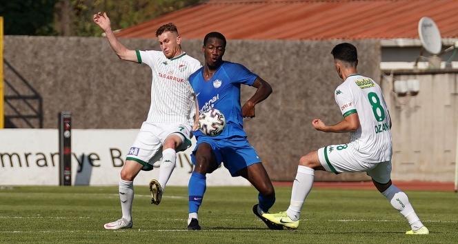 Tuzlaspor: 3 - Bursaspor: 3 | Maç sonucu