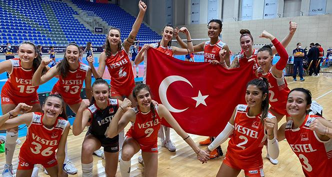 U17 Milli Takımı, Avrupa Şampiyonası'nda namağlup finalde