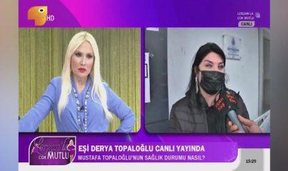 Kalp krizi geçiren Mustafa Topaloğlu'nun eşinden ilk açıklama: Kalbin alt köşesinden pıhtı alındı