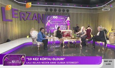 Lale Belkıs'tan kürtaj açıklaması