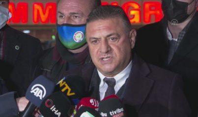 İSTANBUL - Fenerbahçe-Çaykur Rizespor maçının ardından - Hasan Kartal