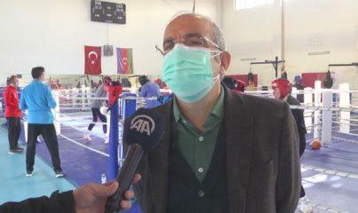 KASTAMONU - Spor Genel Müdür Yardımcısı Kocakaya'dan milli boksörlere ziyaret