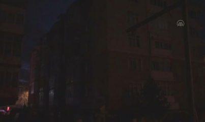 KONYA - Evde çıkan yangında 6 yaşındaki çocuk ile annesi öldü