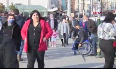 Diyarbakır'da güneşli hava, koronavirüsü unutturdu