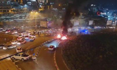 - İsrail'de Yüzlerce Filistinli, İsrail Polisi İle Çatıştı