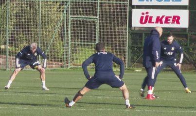 İSTANBUL - Fenerbahçe, Galatasaray derbisinin hazırlıklarını sürdürdü