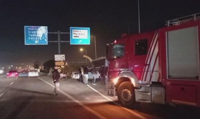 İSTANBUL - Silivri'de trafik kazası: 1 yaralı