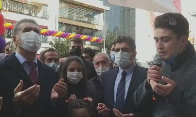 İSTANBUL - TDP Genel Başkanı Sarıgül, Ümraniye'de partililerle buluştu